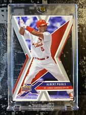 🔥⚾️Albert Pujols Die-Cut 2008 Upper Deck X #91 Baseball Card