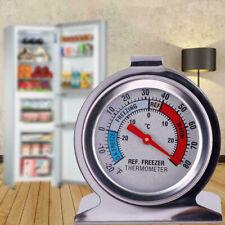 US Fridge Freezer Thermometer Hanging Refrigerator Gauge Home Kitchen Tool