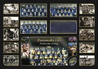 PARRAMATTA EELS PREMIERSHIP HISTORY Memorabilia Limited Edition Framed Comes COL