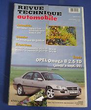 Revue technique automobile RTA 623 Opel omega B 2.5 TD jusqu'à sept 99