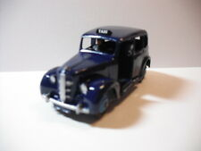 Dinky Toys Meccano Austin London Taxi Cab #40H  NAVY BLUE W/BLACK Base! RESTORED