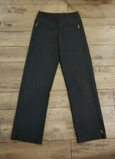Women's Black Lucy Rei Athletic Yoga Bootcut Running Pants Xs Stretch