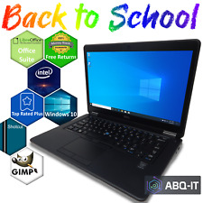 Back to School Laptop Dell Latitude i5 8GB RAM 128GB SSD Webcam WiFi Windows 10