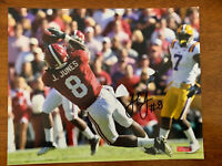 Julio Jones Alabama Crimson Tide Signed Autographed 8x10 Photo COA Falcons