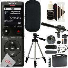 Sony UX570 Digital Voice Recorder + Shotgun Microphone Accessory Kit