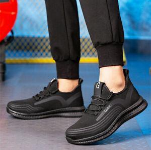 Herren Arbeitsschuhe Sicherheitsschuhe Sneaker Unisex Stahlkappe Wasserdicht DE