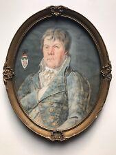 Portrait des Caspar von Wenz zu Niederlahnstein, Freiherr u. Gutsbesitzer, 1830