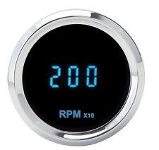 "Dakota Digital Solarix Series 2-1/16"" Round Mini Tachometer 0-18000 RPM SLX-02-7"