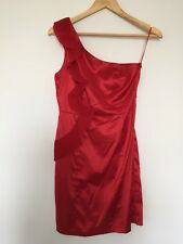 Temt Dress Red, Size 8, Pre-owned