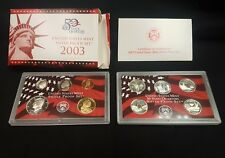 2003-s U.S. Silver Proof Set. Complete and Original.