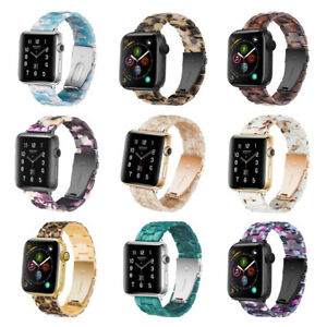 Resin Classic Replacement Wristband Strap For Apple Watch iWatch SE 6 5 4 3 2 1