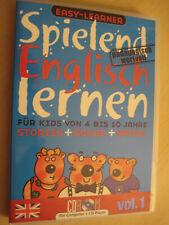 Spielend Englisch lernen - Easy-Learner - CD-Rom - Vol. 1 - 4 - 10 Jahre CD & PC