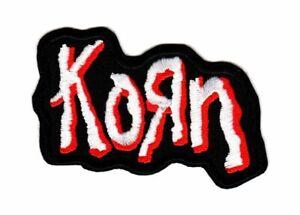 Korn Patch Nu Heavy Metal Band Logo