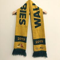Australia Wallabies Rugby 2019 Bledisoe Cup Perth Adult Scarf