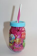 Shopkins Cup with Lid/Straw  & 20 Shopkins Surprise Bags/Blind Bags - Gift Pack