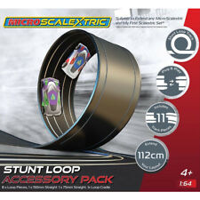 NEW Micro Scalextric Track Stunt Ext. Pack Stunt Loop 1/64 Slot Car FREE US SHIP