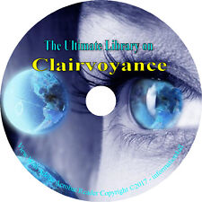 21 Books on CD – Ultimate Library on Clairvoyance, Paranormal Clairvoyant Psyche
