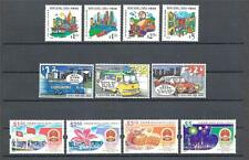 Hong kong Sc# 844-47 Transport Sc# 849/54 Turism Sc# 855-58 PR China 50 year MNH