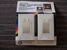 MAGIC TOUCH DIMMER SOLID STATE WITH BUILT IN MEMORY INCANDESCENT LIGHTING ONLY