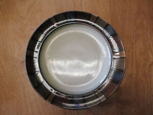 """Pier 1 MOSAIC Dinner Plate 11"""" Brown Cream Rust Blue 1 ea     10 available"""