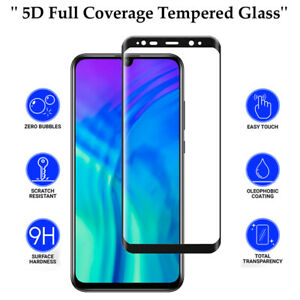 5D Anti Scratch 9H Tempered Glass Screen Protector for Huawei Honor 10 Lite
