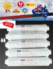 5x In Line Carbon Fridge Water Filters | Inline Filter Samsung, Westinghouse, LG