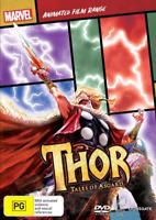 Thor - Tales Of Asgard Marvel Animated Film Range : NEW / SEALED DVD