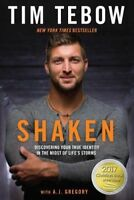 SHAKEN: Discovering Your True Identity by Tim Tebow (0735289883)