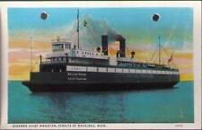 (ugn) Straits of Mackinac MI: Steamer Chief Wawatam