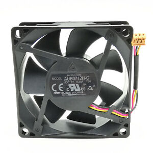 1pcs Delta AUB0712H-C Y26 7025 12V 0.29A 7cm 3-wire Projector Cooling Fan