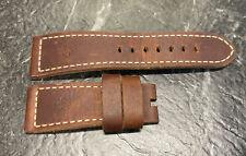 Officine Panerai Calf Ponte Vecchio Dark Brown 26.0/22.0 Standard Leather Strap