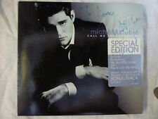 SIGNED MICHAEL BUBLE Music CD Call Me Irresponsible in Very Good Condition