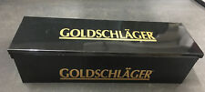 Rare Goldschlager 6 Compartment Bar Condiment Caddy Fruit Garnish Dispenser Tray