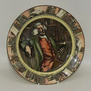 scarce Royal Doulton Professionals series plate BOOKWORM D5905