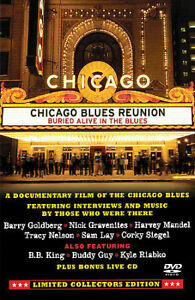 Chicago Blues Reunion: Buried Alive in the Blues (DVD + CD) Documentary & Live