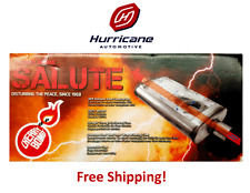 """Cherry Bomb Salute Stainless Steel Muffler SA2588 3"""" Center In 2.5"""" Dual Outlet"""