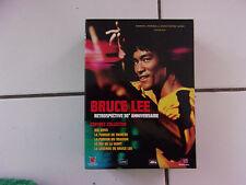 coffret collector intégrale BRUCE LEE 5 dvd + 1 livre ( rétrospective 30ème anni