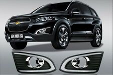 2x Excellent Quality Daytime Running Light fog light For Chevrolet captiva 2013
