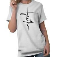 Jesus Christ Faith Religion Christian Fashion Unisex T Shirt Tee For Women