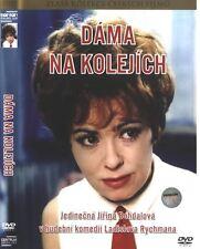 Dama na kolejich (Lady on the Tracks) DVD Pal paper sleeve Czech musical comedy