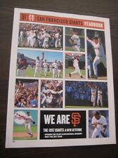 2017 San Francisco Giants Official MLB Yearbook-NEW