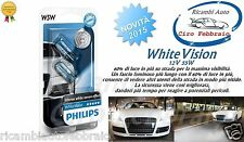 2x LAMPADE PHILIPS WhiteVision Ford Transit Connect 06/02> W5W 12V 5W +60% 4300K