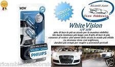 2xLAMPADE PHILIPS WhiteVision Citroen DS3 04/10> T10 W5W 12V 5W +60% 4300K