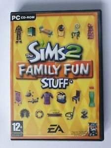 The Sims 2 : Family Fun Stuff Expansion Pack PC CD-ROM + Manual