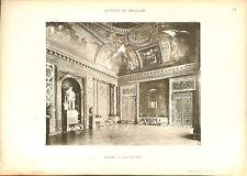 Salon Venus Statue Louis XIV empereur romain Château de Versailles GRAVURE 1899