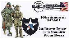 17-351, 2017, 2nd Infantry Div., South Korea,  Pictorial, Event Cover, U.S. Army