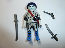 Playmobil skeleton pirate action figure toy ghost ship crew swords & gun GitD A