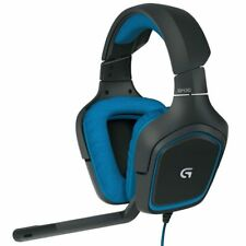 Logitech G430 Gaming Headset with Dolby 7.1 Surround Sound - 981-000536