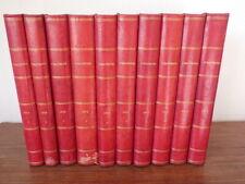 L'ILLUSTRATION années 1914 1915 1916 1917 et 1918 Guerre 10 Volumes COMPLET