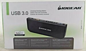 IOGEAR USB 3.0 Universal Docking Station for Ultrabook/Laptop/Tablet #GUD300